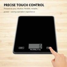 Цифровые кухонные весы с ЖК дисплеем точные пищевые из нержавеющей