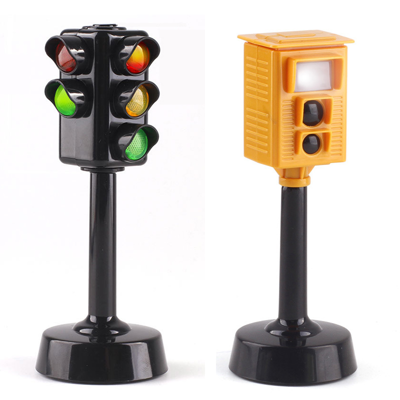 Kids Traffic Light Simulation Of Sound And Light Violation Camera Arrangements Puzzle Kindergarten Children Baby Toys