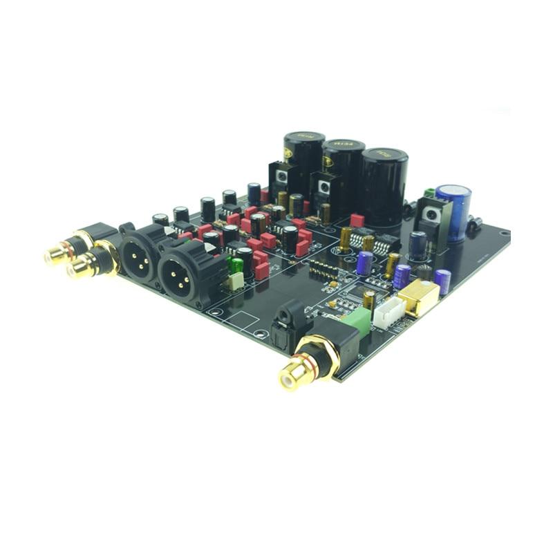 NEW ES9018 DAC HIFI AUDIO assembled board Decoder I2S 384K DSD XLR option USB XMOS XU208