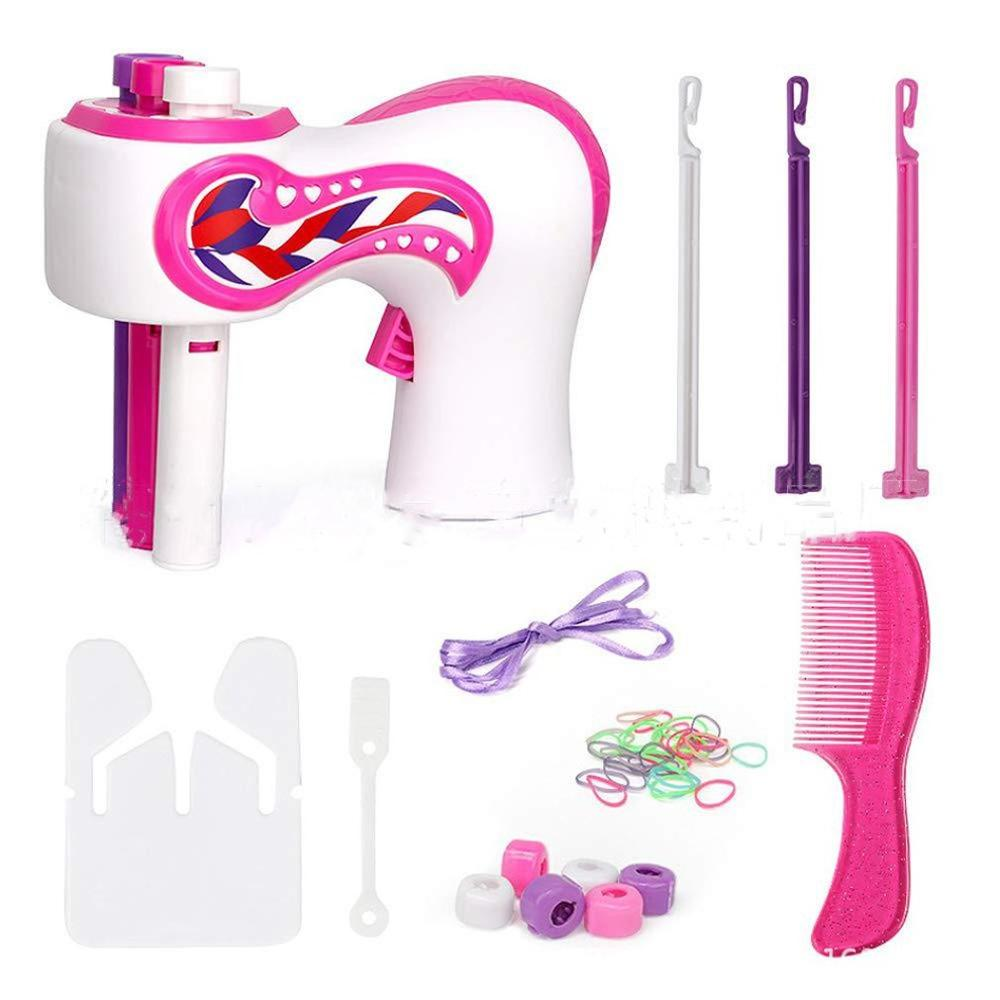 Safe And Non-toxic Creative Hair Styling Tool Automatic Braider Holiday Party Editing Artifact Girls Kids Toys Set