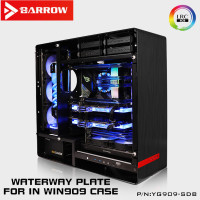 Barrow INWIN 909 water channel board for Intel CPU water cooling block and single building / dual GPU / pump YG909 SDB
