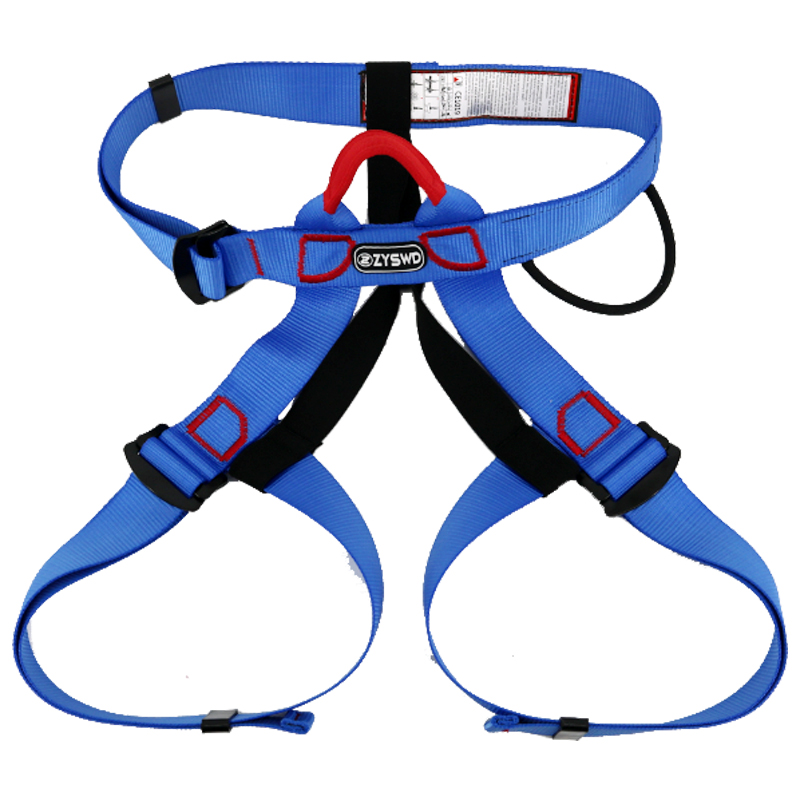 Outdoor Climbing Harness Bust Seat Belt Professional Rock Climbing Mountaineering Belt Safety Harness Rappelling Equipment