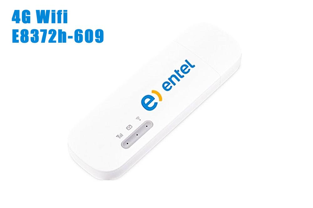 Huawei Modem Wifi-Band Unlocked E8372h-609 1700/2100 4G 150mbps 2100/2600mhz 1/2/4-/.. title=