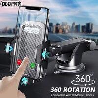 Soporte de teléfono móvil con ventosa para coche, montaje GPS magnético para iPhone 12 11 Pro Xiaomi Samsung
