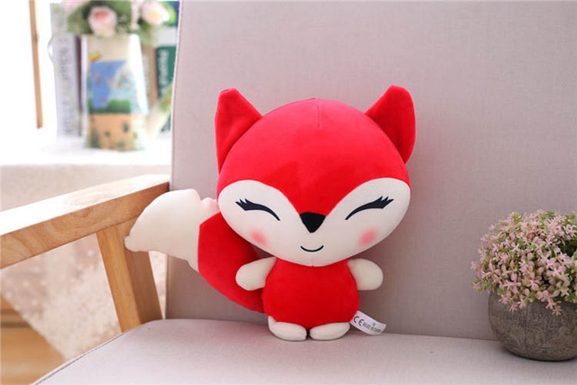 Fox Doll Stuffed Toys Plush Animals Soft Kids Baby Toys for Girls Children Boys Birthday Gift Kawaii Cartoon Hot Fox koala