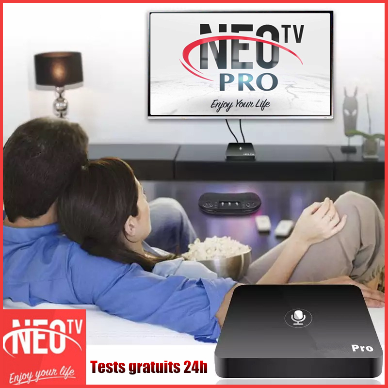 Stable Android Neotv Pro android tvbox support ip smart tv box for France Suisse Monaco Belgium Spanish Dutch m3u neox Neo TV bo
