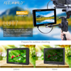 FEELWORLD LUT7 7 Inch 3D LUT 2200nits Touch Screen DSLR Camera Field Monitor with Waveform VectorScope Histogram review