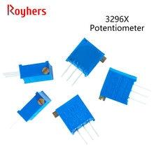 Trimmer Potentiometer 50K 20K 200k-500k 10K 3296X-1-502LF 500R 10pcs 100R 2M 1M 200R