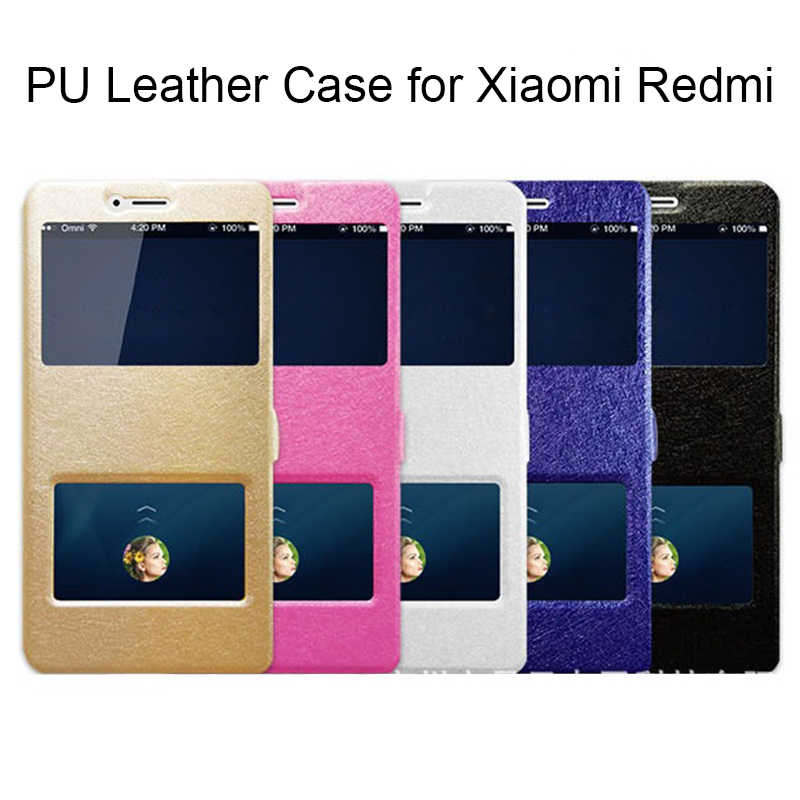 Original Silk Leather Case for Xiaomi Redmi Note 6 Pro 5A 4X Flip Cover 360 Full Case for Redmi 6A 4A S2 3S Note 7 5 4 3 2 Coque