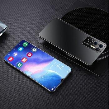 2021 Newest Smartphones Rino5 Pro 6.7Inch 16+512GB Face Fingerprint Mobile Phone MTK6889 32+50MP 6800mAh Andriod11.0 Cellphone 6