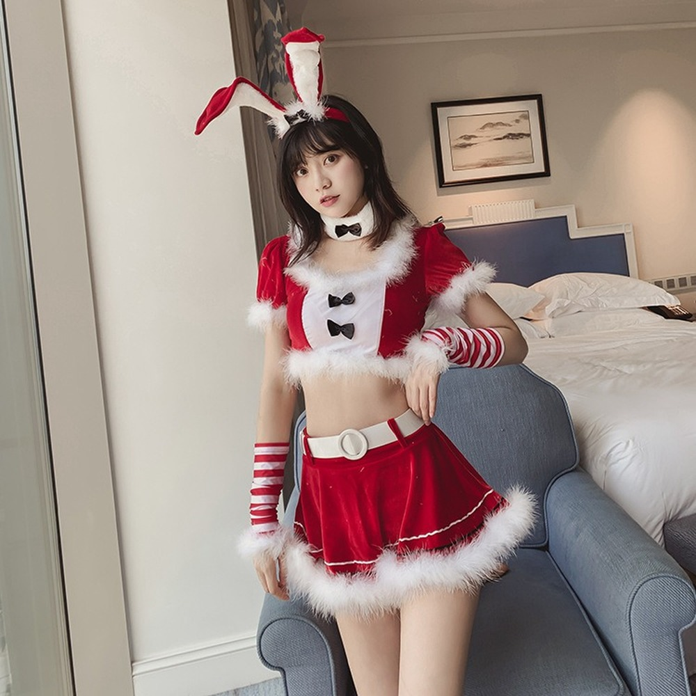 2019 Sexy Women  Lingerie Erotic Sexy Costumes Sexy Bunny Cosplay Uniforms Role Play Costumes Christmas Costumes for Women Sets