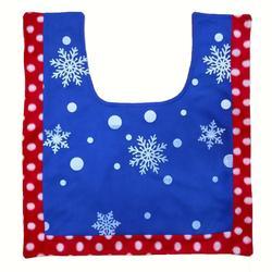 3Pcs/set Christmas Santa Toilet Seat Cover Anti-Slip Bathroom Mat Toliet Rug Christmas Decoration for Home New Year Mat 5