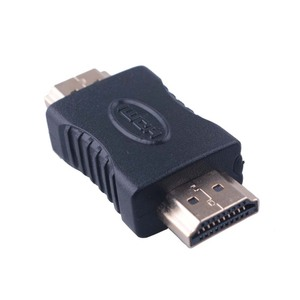 Gold-plated HDMI to HDMI male to Male Coupler Connectors EXtender Adapter Converter For HDTV Laptop Projector wholesale