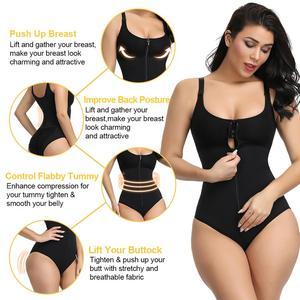 Image 4 - Lover Beauty Slimming Underwear Bodysuit Body Shaper Women Waist Trainer Shapewear Postpartum Recovery Butt Lifter Panties