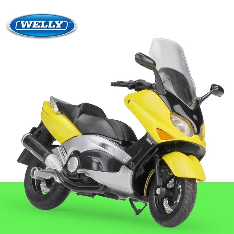 1:18 Welly YAMAHA XP500 TMAX 2001 Alloy Diecast Motorcycle Big Boys Toys