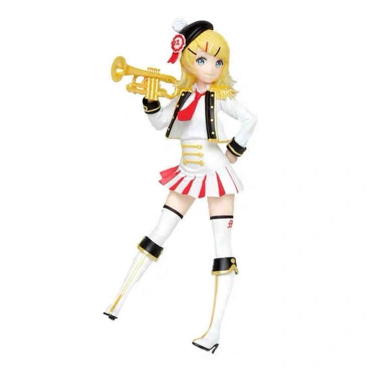 Original Taito <font><b>Kagamine</b></font> <font><b>Rin</b></font> Winter Live PVC action <font><b>figure</b></font> model Figurals Dolls image
