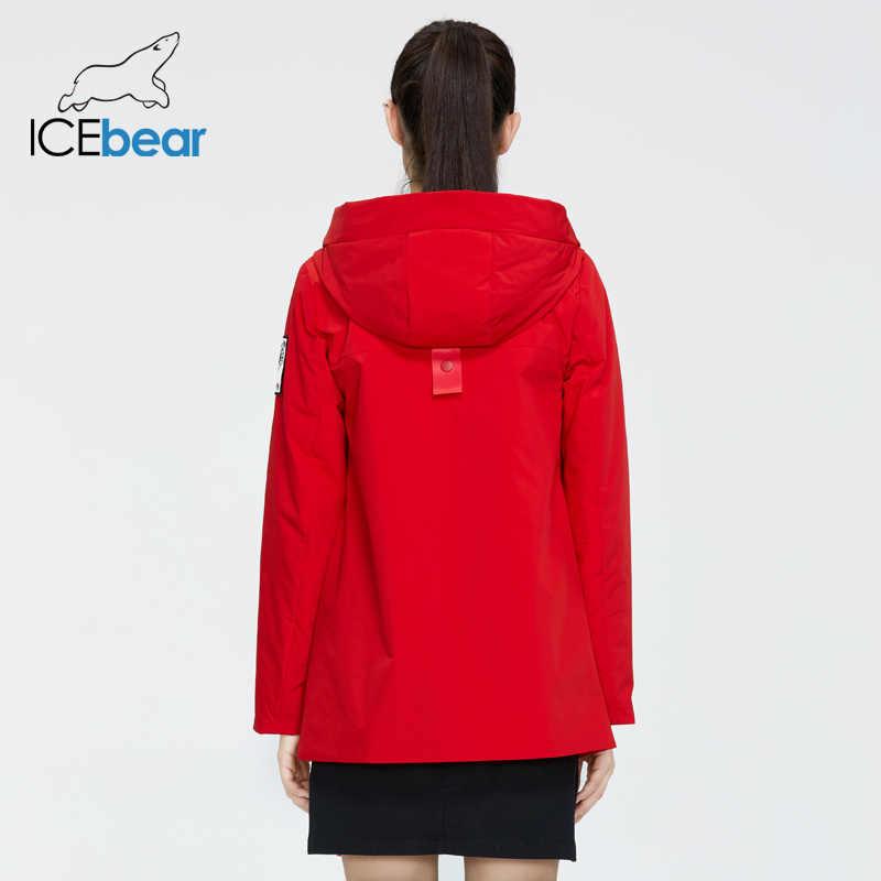 ICEbear 2020 짧은 여성 코트 새로운 봄 여성 자 켓 고품질 여성 코트 브랜드 의류 GWC20726I