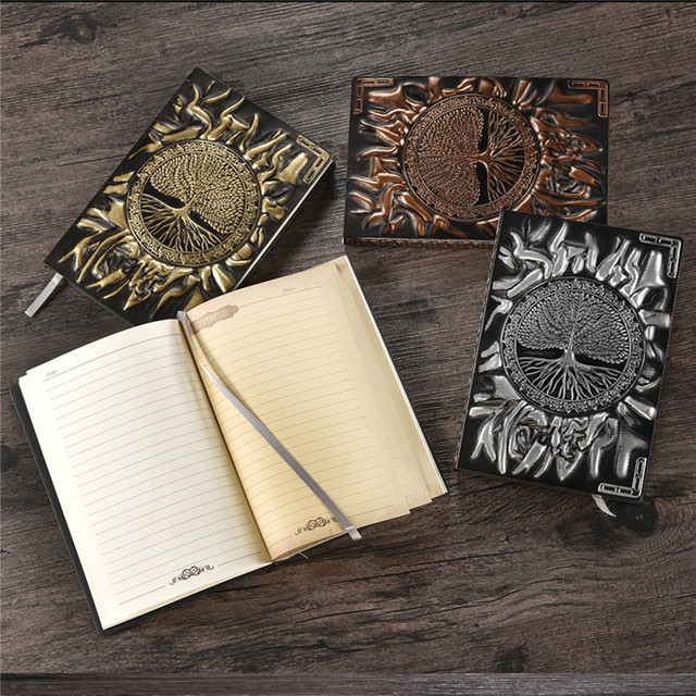 A5/A6 Diary Notebook Journal Handcraft Embossed notebook Leather Notebook Bible Book Travel Journal Planner School Office
