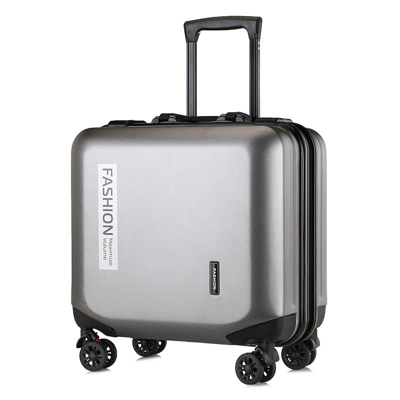 18 Inch Suitcase On Wheels Cabin Carry On Luggage 2019 Women Trolley Suitcase With Wheels For Men's Luggage Big Bag