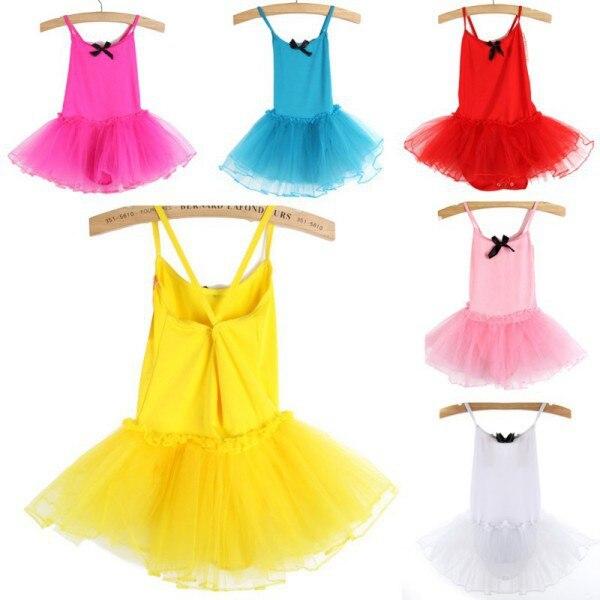 Girls Ballet Dress For Children Girl Dance Clothing Kids Ballet Costumes For Girls Dance Leotard Girl Dancewear 6 Color