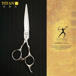 تيتان المهنية الحلاق مقص شعر صالون قطع مقص مقصات الحلاقة اليابان vg10 الصلب