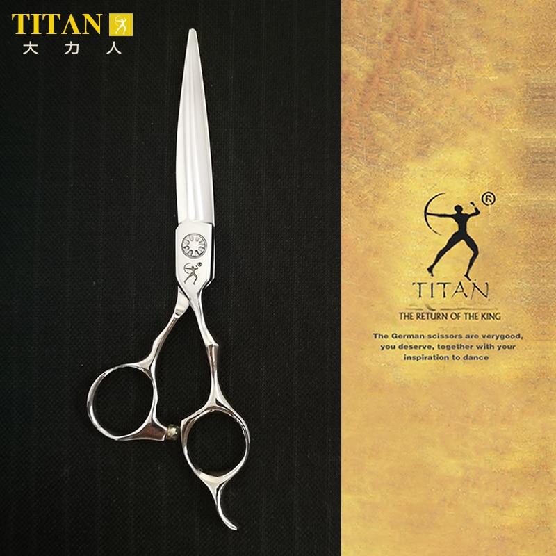 Titan Professional Barber Hair Scissor Salon Cutting  Scissors Hairdressing Scissors Japan Vg10 Steel