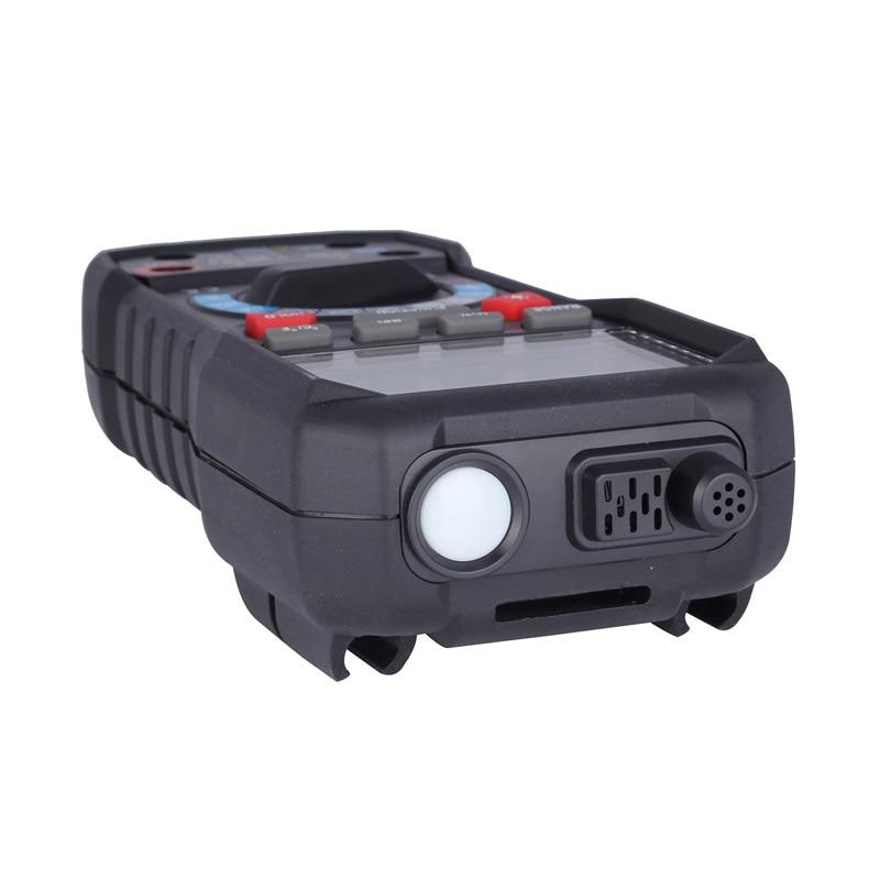 Digital Multimeter Tester Automatic LCD Meter Mini Multimetro DC AC Voltage Current Resistance Diode Temperature Multimeter - 6