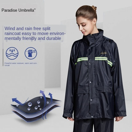 Electric Motorcycle Raincoat Women Rain Pants Set Full Body Waterproof Rain Coat Men Hat Jacket Hiking Rainwear Chubasquero Gift 4