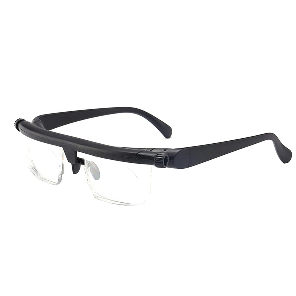 Tr90 Focal Length Adjustment Reading Glasses Can Be Adjusted -6D To +3D Degrees Myopia Reading Glasses