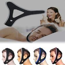 Анти храп для лечения храпа, подбородочная планка апноэ ремень поддержка регулируемые аксессуары для сна