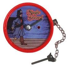 Magia espada truques de magia estágio close-up magia diversão ilusão psicológica manequim adereços aparecem desaparecendo brinquedos