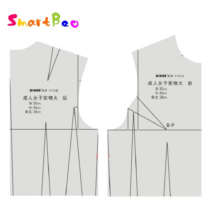 1:1 Women Fashion Design Ruler Female Body Type Ruler Aided Design Drawing Template For Tailor, Sewing And Designer