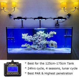 Image 2 - Iluminación Led para acuario marino, lámpara de luz Led para acuario, iluminación para crecimiento de arrecife de Coral, Turing30, 3 uds.