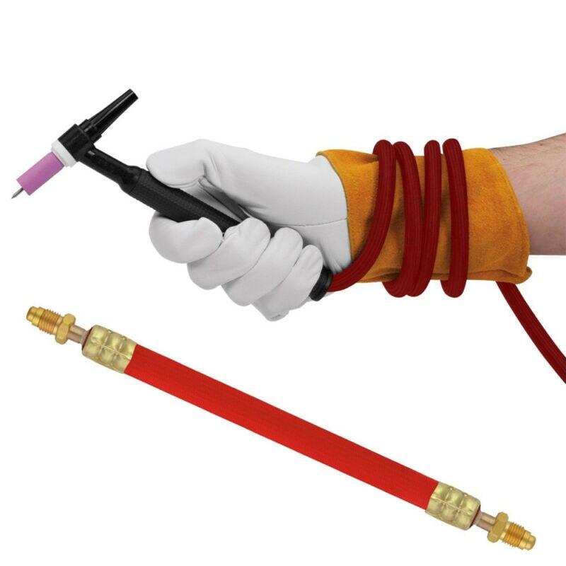 25ft TIG фонарь силовой кабель с воздушным охлаждением сварочный аксессуар для 9 и 17 серии фонарь es