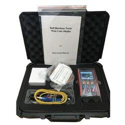YHT500R rolki twardościomierz kolorowy wyświetlacz z HS 25.5 to115.6 kute stalowe rolki Durometer twardości przyrząd pomiarowy