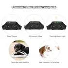 Водонепроницаемый перезаряжаемый ошейник для дрессировки собак Звуковой сигнал/вибра/светильник 656yd 600 м дистанционный ошейник для дрессировки собак - 5