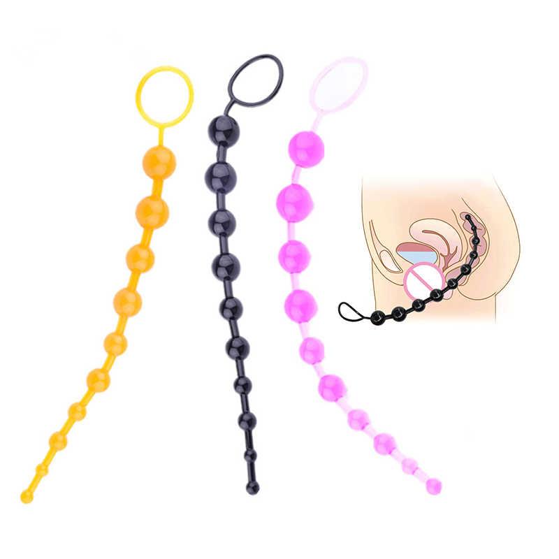 Estimulador Anal Plug, Vagina, erótico consolador con masaje, punto G, juguete sexual para adultos sin vibrador para mujer, tienda sexual Gay