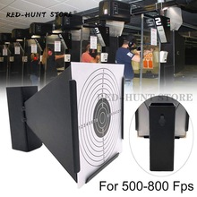 Wall-Mounted Pellet-Gun Pape Target-Shooting Steel-Trap New for Indoor 5-Style Avaliable