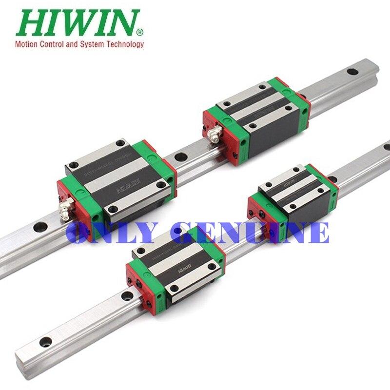 Rail de guidage de classe C de marque Hiwin à charge lourde HGR35R-1000mm Rail linéaire pour Machine à CNC