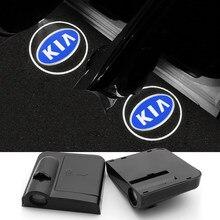 Lampe de sécurité Anti-collision, 2 pièces, feu d'avertissement d'ouverture de porte de voiture, Flash magnétique sans fil pour Nissan Kia Fiat Honda