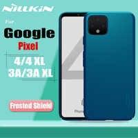Para Google Pixel 4 XL 3A XL Funda Nillkin Frosted Matte Shield Funda de teléfono dura para Google Pixel 4 4XL 3A XL
