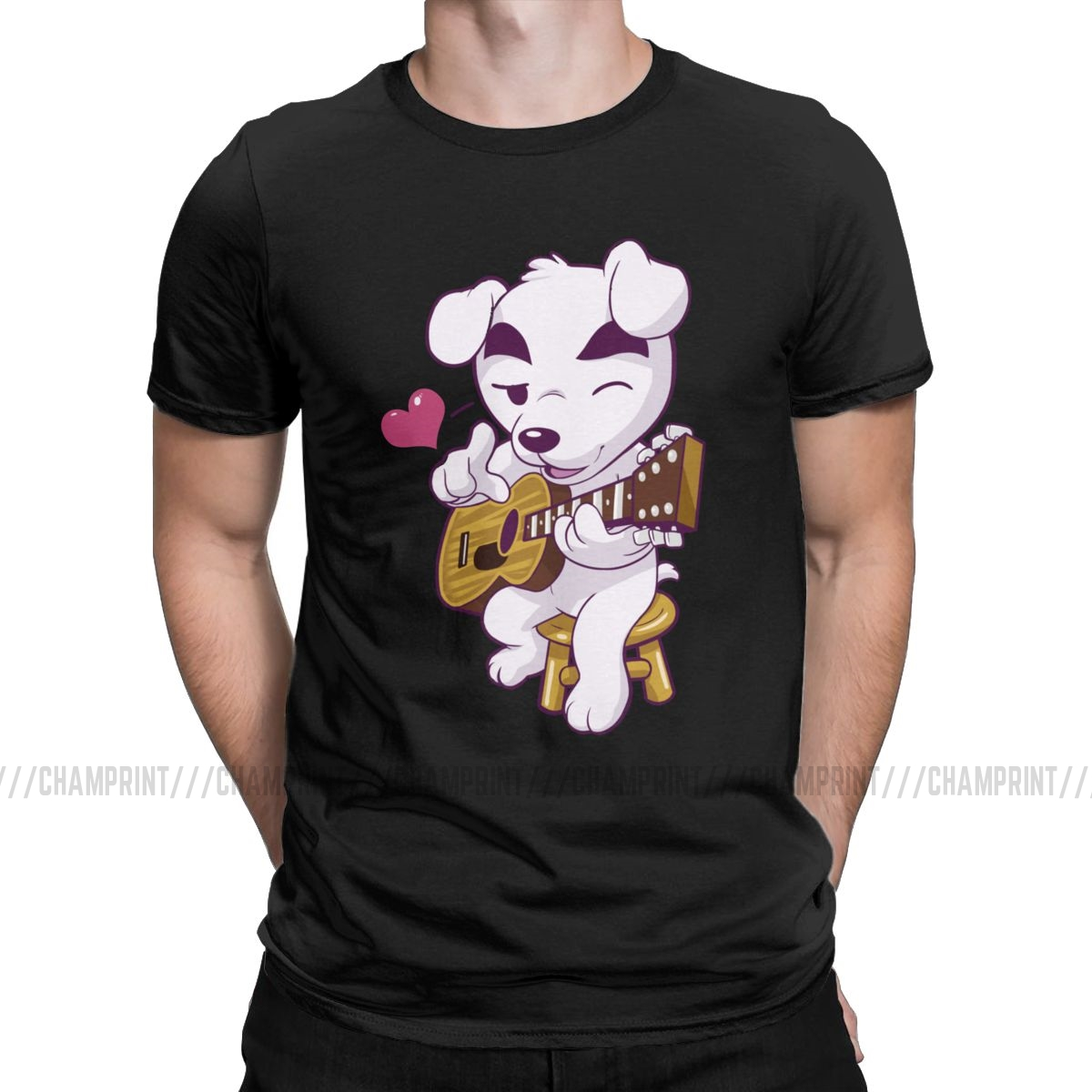 This Song Is For You T Shirts Men 100% Cotton Novelty T-Shirts Animal Crossing Video Games Tee Shirt New Arrival Clothing image