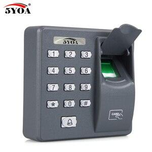 Image 4 - BX6FY Biometric Fingerprint Access Control Machine Digital Electric RFID Reader Scanner Sensor Code System For Door Lock