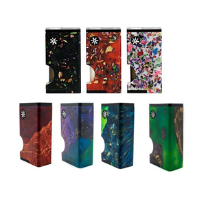 Image 1 - asMODus Luna Squonker Box Mod 80W output Electrnic Cigarette Vape 6ml squonk bottle Power by Single 18650 Battery (not included)