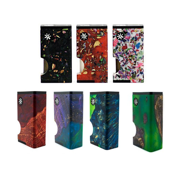 asMODus Luna Squonker Box Mod 80W output Electrnic Cigarette Vape 6ml squonk bottle Power by Single 18650 Battery (not included)