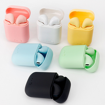 i7Mini TWS Wireless Earphones Bluetooth 5.0 Earphone Matte Earbuds Charging Box Headset Wireless Headphones for xiaomi iphone 2