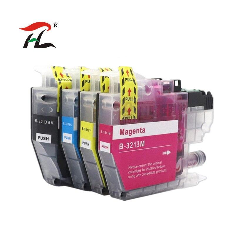 Совместимый картридж с чернилами LC3211 LC3213 3213XL 3211XL для Brother DCP-J772DW DCP-J774DW MFC-J890DW MFC-J895DW Injet принтер