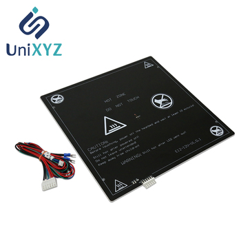 Unixyz MK3 Heatbed 220*220/300*300*3mm Aluminum Heated bed Platform for A6 A8 A8 plus E16 E12 ET4 3D Printer Hotbed DIY Parts image