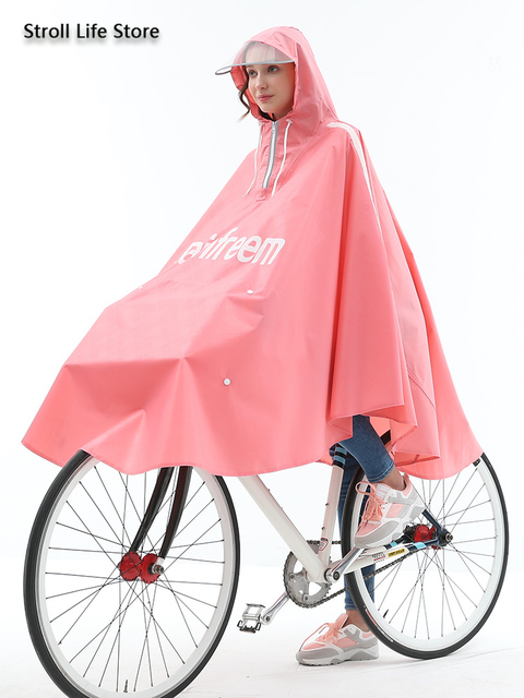 Adult Bicycle Rain Poncho Rain Coat Women Jacket Red Raincoat Men Anti- Riding Windbreaker Rainwear Capa De Chuva Gift Ideas 4