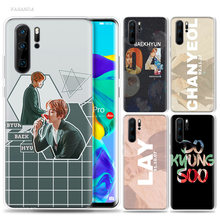 Exo K Pop Baekhyun Case for Huawei P20 P30 P Smart Z Plus 2019 P10 P9 P8 Mate 30 10 20 Lite Pro Silicone Sac Phone Coque Cover(China)